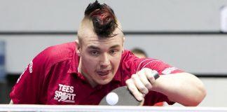Table Tennis paralympian Jack Hunter-Spivey