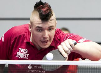 Table Tennis paralympian Jack Hunter-Spivey
